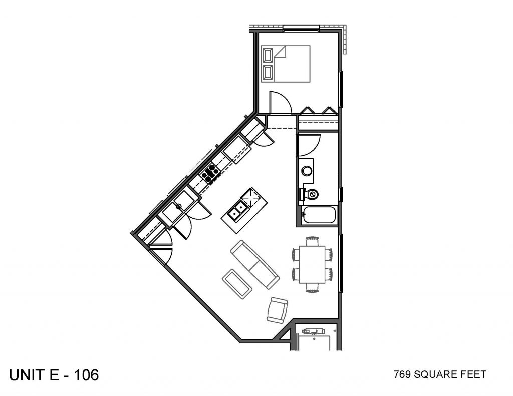 Unit 106 Floor Plan